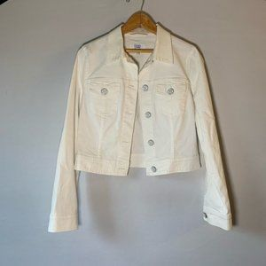 Escada Sport White Jean Denim Jacket 36 - S